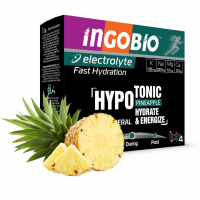 İngobio Elektrolit Sporcu İçeceği Doğal Ananas Aroması