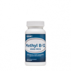 GNC Methylcobalamin B12 2500 Mcg 100 Tablet