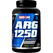 Hardline ARG Arjinin 1250 Mg 120 Tablet
