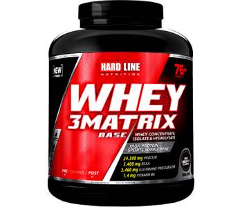 Hardline Whey 3 Base Matrix 2300 Gr