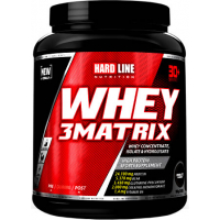 Hardline Whey 3 Matrix 908 Gr