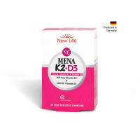 Newlife Mena K2+D3 60 Kapsül