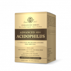 Solgar ADVANCED 40+ ACIDOPHILUS VEGETABLE CAPSULES
