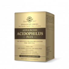 Solgar ADVANCED ACIDOPHILUS PLUS VEGETABLE CAPSULES