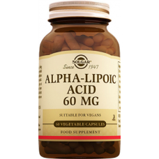 Solgar ALPHA LIPOIC ACID 60 MG CAPSULES