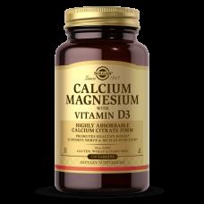 Solgar CALCIUM MAGNESIUM WITH VITAMIN D3 TABLETS