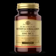 Solgar METHYLCOBALAMIN (VITAMIN B12) 1000 MCG NUGGETS