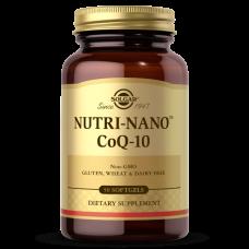 Solgar NUTRI-NANO™ COQ-10 SOFTGELS