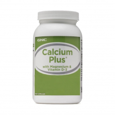 GNC Calcium Plus with Magnesium & Vitamin D 180 Kapsül