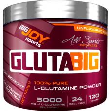 BigJoy Sports GlutaBig Pure L-Glutamine Powder 120 Gr