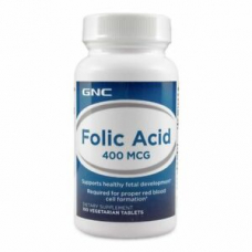GNC Folic Acid 400 Mcg 100 Tablet
