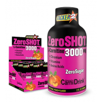 ZeroSHOT 60 ML 3000Mg L-Carnitine 12 Adet